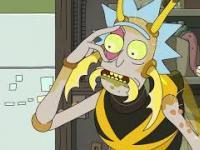 Rick spotyka rodzinę gdzie ludzie to insekty, a dokładnie osy