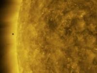 Przejście MERKUREGO przez tarczę Słońca. W 4k