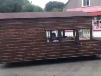Pierwsza jazda próbna Tesla Home Truck
