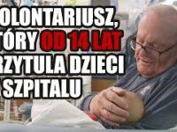 Dziadek z intensywnej terapii - od 14 lat przytula noworodki w szpitalu