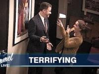 Śmieszek Jimmy Kimmel trolluje współpracowników swoim woskowym klonem