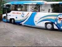Autobus z awarią hamulców w górach