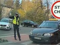 Instant karma czyli wykroczenie i szybkie spotkanie z Policją - [Pod choinkę od Stop Cham