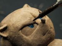 Jeż SONIC zrobiony z długopisu 3D