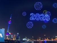 W Szanghaju sztuczne ognie zastąpił niesamowity pokaz dronów