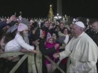 Papież Franciszek kontra nadgorliwa Azjatka