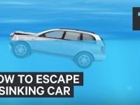 Jak wydostać się z tonącego samochodu
