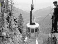 Budowa kolei linowej na Kasprowy Wierch