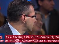 Popisowe zagranie redaktora TVP gdy rozmowa schodzi na temat podatków