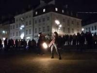 Taniec z ogniem.