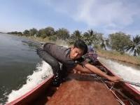 Potężna łódka z Tajlandii