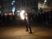 Żonglerka ogniem, Fire Show.