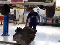 Niespodzianka podczas przeglądu samochodu