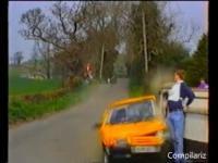 Nie tylko podczas rajdu, czyli kompilacja ludzi prawie potrąconych przez auta