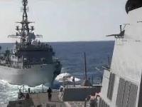 Rosyjski statek zwiadowczy agresywnie zbliżył się do amerykańskiego niszczyciela