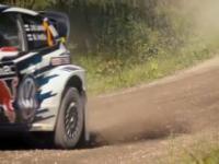 Kamaz spotkał się z volkswagenem na rajdzie w Finlandii