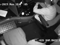 Maszynista na Dolnym Śląsku oślepiony laserem