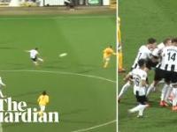 Cudowny gol w ostatniej akcji meczu