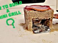 Jak zbudować mały opiekacz? How to build a Mini Grill? Bricklaying