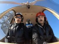 Symulowana awaria silnika helikoptera w górach
