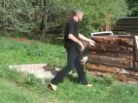 Rosyjska szkoła walki - lekcja 1 - rzucanie nożem