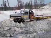 Off-road URAL 6x6 - Radziecki lodołamacz na kołach