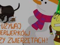 Nie używaj fajerwerków przy zwierzętach! | Przygody Pupusia - Uwaga, Achtung!