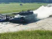Leopard II na pełnej prędkości kontra BMW