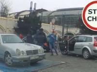 Bójka francuskiego kierowcy z taksówkarzami we Wrocławiu