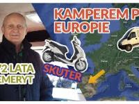 Polski emeryt podróżuje własnoręcznie zrobionym kamperem po Europie