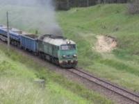 Pociąg towarowy wznieca pożar podczas przejazdu przez las