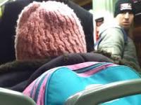 Kobieta wyrzucona z autobusu