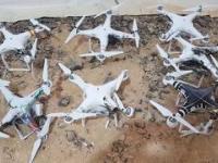 Strącanie dronów przy pomocy lasera