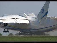 Największy i najcięższy stalowy ptak w powietrzu - Antonov An-225 Mrija