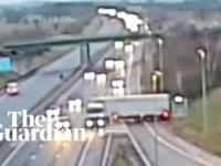Wielka Brytania: Kara więzienia za zawracanie na autostradzie.