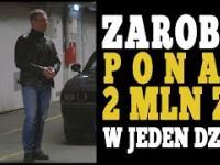 Zarobił ponad 2 mln złotych w jeden dzień - programista Maciej Aniserowicz