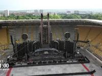 Timelapse z siedmiu dni budowy sceny na koncert Rammstein