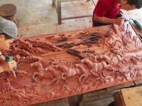 Rzeźbienie w drewnie, level Azjata