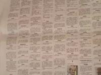 Nekrologi we włoskiej gazecie