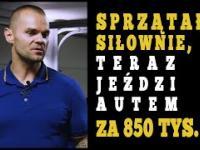 Sprzątał siłownie, teraz jest właścicielem 32 klubów fitness w Polsce - Łukasz Dojka