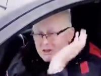 Kierowca przez przypadek przekroczył granicę