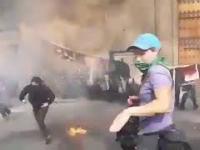 Feministki chciały sobie coś zapalić podczas protestu