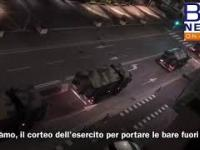 Wstrząsające nagranie z Włoch dla ignorantów. Siedź w domu!