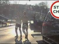 Zajechanie i bójka kierowców w Jaworznie