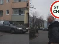 Dzika furia po kolizji na drodze osiedlowej w Gdańsku
