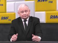 Na pytanie o zdrowie prezes Kaczynski odpowiedział krótko
