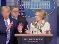 Reakcja Donalda Trumpa na wiadomość o gorączce Dr Birx