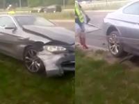 Jak nie brać BMW na lawetę