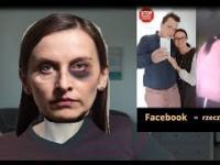 Kobieta go bije a dziecko patrzy!