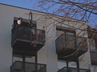 Kwarantannowa balkonowa impreza w Szczecinie